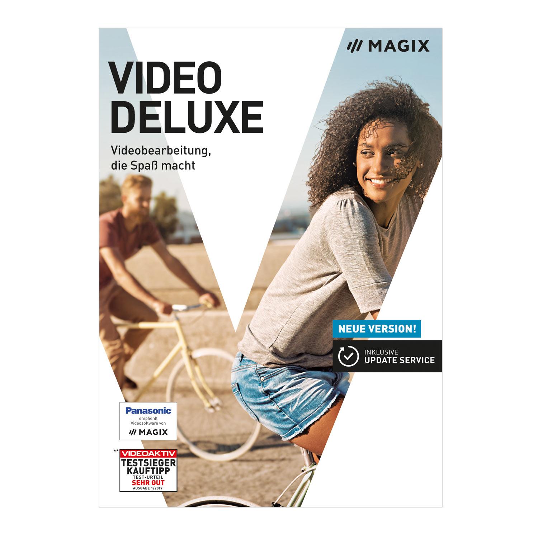 MAGIX Video deluxe 2018 – das Programm, mit dem Videobearbeitung Spaß macht. [Download]