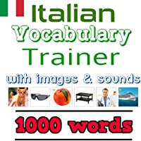 Learn Italian: Vocabulary Trainer - 1000 Words with images