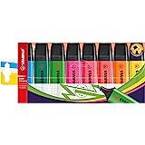 Surligneur - STABILO BOSS ORIGINAL - Pochette x 8 surligneurs - Coloris assortis