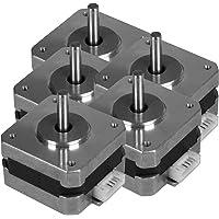 Unique India 5 Pcs Nema 17 2.5 Kg-cm Bipolar Stepper Motor 10mm shaft For CNC Robotics DIY Projects 3D Printer