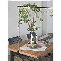 Möbel Jack Deko-Tischgestell Tischstange Dekostange Tischdekorationshalter zum Klemmen | Breite 140 cm | Ausziehbar auf…