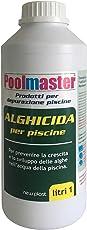 New Plast 2918 - Alghicida Doppia Funzione per Acqua Piscina, Flacone 1 lt
