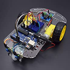 REES52 Line Follower Robot Using L293D Motor Driver Module Interfacing with Arduino Uno with Step by Step Instruction Manual - KT682