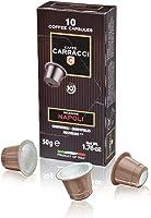 Caffè Carracci, Capsule Compatibili Nespresso Napoli, Intensità 10 - 100 Capsule