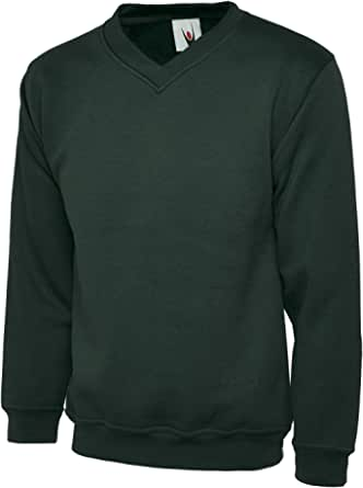 UC204 Uneek 340 GSM Premium V-Neck Sweat Shirt