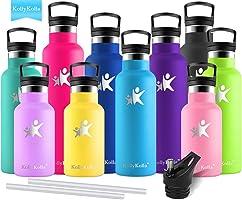 KollyKolla Bottiglia Termica per Acqua in Acciaio Inox, Senza BPA, Borraccia Sportiva Sottovuoto a Doppia Parete -...