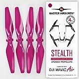 Master Airscrew Śmigła Stealth do DJI Mavic Air - Magenta 4 szt