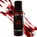 Blackblood The Fake Blood for Horror Fake Blood Scary Prank & Halloween Party (Bloodyred) (30ml)