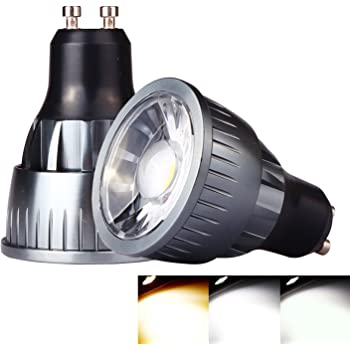 ossun 9 W GU10 LED Bombilla Cálido Blanco Day Blanco Cool blanco no regulable halógena 80 W equivalente, Super claro bajo consumo bombilla Interior Living ...