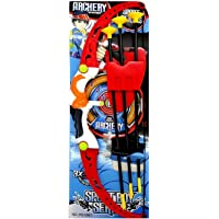 toy centre archery bow & arrow with bow & 3 cup suction arrows with quiver to hold arrows target sport toy game suitable…