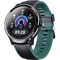 Crossbeats Ace Smart Watch 2020 Full Touch Men Women Fitness Tracker Blood Pressure Blood Oxygen Heart Rate Monitor…