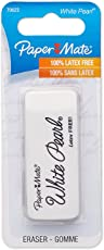 Paper Mate White Pearl Premium Erasers, 1 Eraser (70623) by Paper Mate