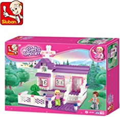 Sluban M38 B0156 Girl is Dream, Multi Color (193 Pieces)