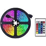 Ledstrip Fairy, van kleur veranderende ledstrip, RGB lichtstrip set met afstandsbediening, ideaal voor kamer, huis, keuken, f