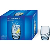 Sodastream Verres à eau et soda – 4 unités – 4 x 330 ml – Transparent – Compatibles Lave-vaisselle – Assortis aux…