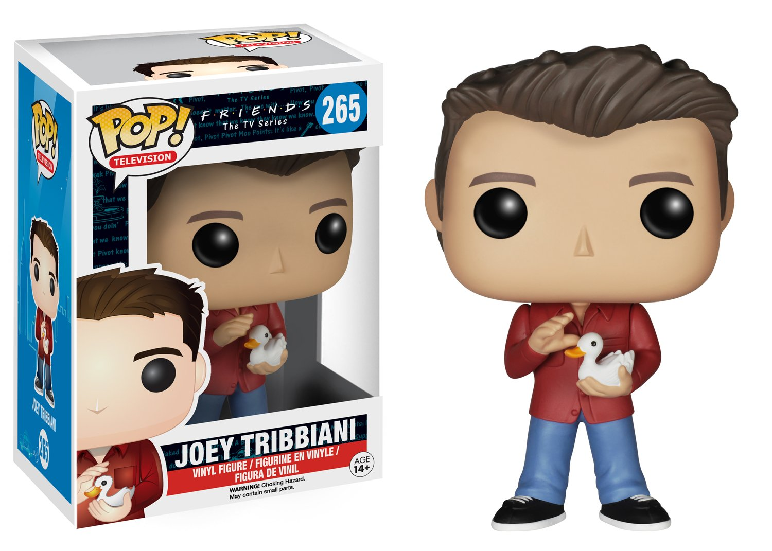 Funko Pop Joey Tribbiani (Friends 265) Funko Pop Friends