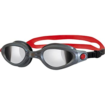 dc38ba532c7 Zoggs Adults Phantom Elite Soft-Seal Swimming Goggles - Silver ...