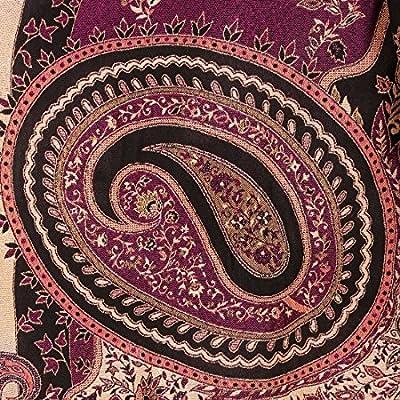 Komal Trading Women's Woollen Shawl (Multicolour, Standard) -Combo of 2