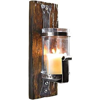 echt antiker dachziegel wandkerzenhalter landhausstil. Black Bedroom Furniture Sets. Home Design Ideas