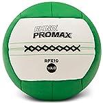 Champion Sports Rhino Promax Slam Balls, 10 lb, Soft Shell with Non-Slip Grip - Medicine Wall Ball for Slamming, Bouncing...