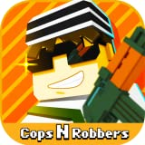 Cops N Robbers (FPS) - Mine Mini Pixel Style Gun Shooter & Survival Multiplayer
