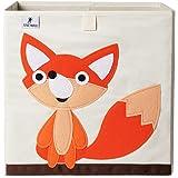 FUTURE FOUNDER Boîte de rangement pour enfants I Jolie boîte à jouets I Boîtes de rangement pour chambre d'enfant (33 x 33 x