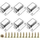 Liuer Magneetsluiting, 6 stuks, kastmagneet, houdkracht, 20 kg, magneetsluiting, deurmagneet, deurslot, magneetsluiting, magn