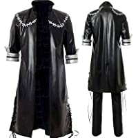 Hawgeylea My Hero Academia No Dabi Costume Cosplay Set Completo Uomo Donna Giacca Cappotto T Shirt (L)