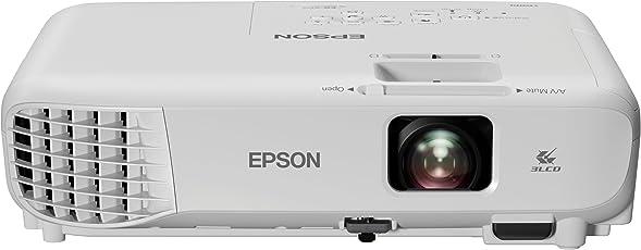 Epson EB-S05 Videoproiettore SVGA, Tecnologia 3LCD, 3.200 Lumen