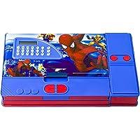 KIKU Spiderman Gadget Pencil Box with Calculator (Multicolour)