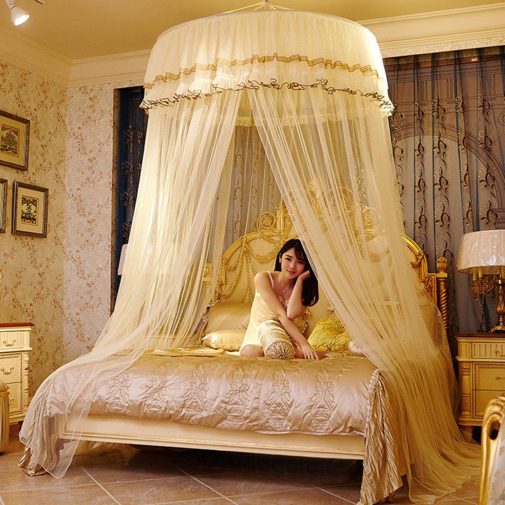 Superior Moskitonetz Für Twin,Vollständige,Queen Size Bett,Großes Moskitonetz  Vorhänge,Überdachung Für Betten,Runde Insekten Fliegengitter,Insekten  Abweisende Schutz ... Great Ideas