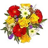 """Blumenstrauß Blumenversand""""Alles Gute"""" +Gratis Grußkarte+Wunschtermin+Frischhaltemittel+Geschenkverpackung"""