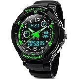 Digitale orologi per bambini ragazzi - 50 m impermeabile sport all' aria aperta orologio analogico con allarme/timer/Dual Tim