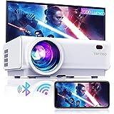 "Mini beamer, WiFi Bluetooth beamer projector, beamer 7000 lumen Full HD 120"", ondersteuning 1080P Full HD multimedia-apparate"