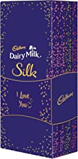 Cadbury Dairy Milk Silk Chocolate I Love You Special Gift Box, 574 gm