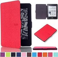 """Amazon Kindle Paperwhite Case Cover–""""Ultra Slim çanta kılıf PU Deri Kılıf Flip Cover Case yeni Amazon Kindle..."""