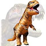 JASHKE Costume Gonflable Costume de Dinosaure Costumes T-Rex Déguisement Cosplay Party Halloween Costume pour Adulte