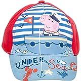 Peppa Wutz, Peppa Pig Gorra de béisbol Unisex para niños, niñas Cap Cappy, Diferentes tamaños y Colores