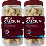 Meat Up Calcium Bone Jar, Dog Supplement Treats - 240 gm, 30 Pieces (Buy 1 Get 1 Free)