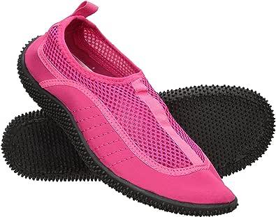 Mountain Warehouse Bermuda Womens Aqua Shoes - Neoprene Design Wet Shoes, Mesh Panel Summer Water Shoes, Slip On, Lightweight Swim Shoes - for Beach Underwater Walking