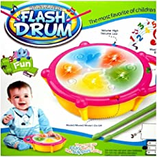 Flash Musical Drum Set for Kids by Eduville