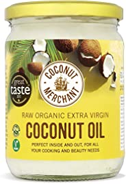 Coconut Merchant Organic Coconut Oil 500mL | Extra Virgin, Raw, Cold Pressed, Unrefined | Ethically Sourced, Vegan, Ketogenic
