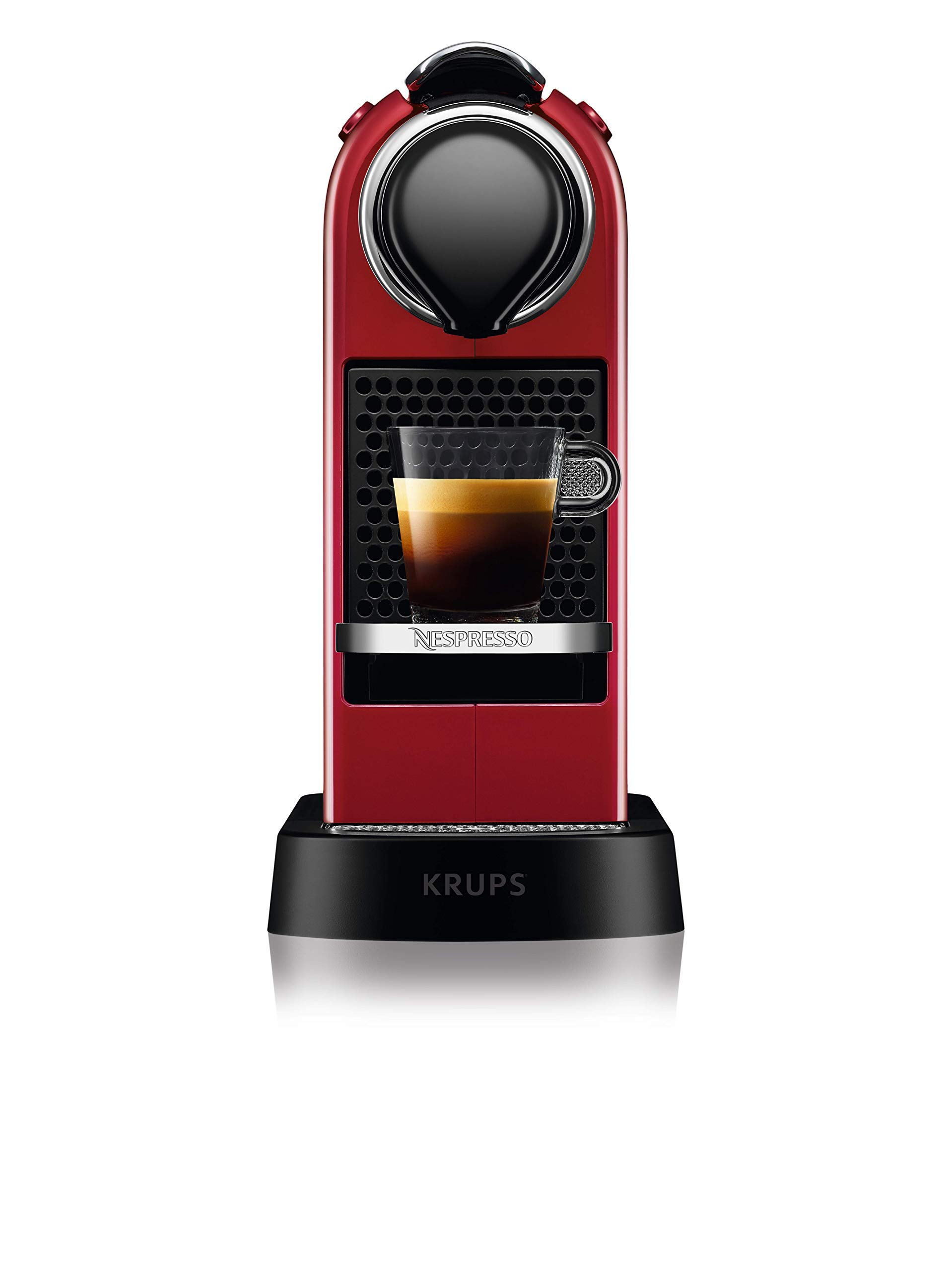 71GOYze4cKL - NESPRESSO KRUPS Citiz XN741540 Pod Coffee Machine-Red