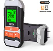 [Upgrade] Wood Moisture Meter, Dr.meter 2 in 1 Pin & Pinless Multifunctional Firewood/Wall/Building/Furniture Humidity Water
