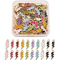 Cheriswlery - Charm in lega smaltata, per gioielli, bracciali, collane e creazioni artigianali