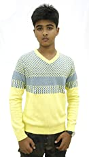 Maxexcel Krazy Gang Boy's V- Neck Cotton Pullovers