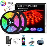 12V RGB Waterproof LED Strip With Flexible Light 5050 5M 300 LED SMD with RGB Remote Control powered