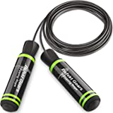 Befekt Gears Skipping Rope, Speed Jump Rope Tangle-free Adjustable Rope with Rapid Ball Bearings & Soft Foam Handle-Fitness W