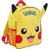 Pokemon Pikachu Kids Mochila de peluche 3D, Pikachu (Amarillo) - MNCK10221