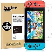 ivoler [Lot de 2] Verre Trempé pour Nintendo Switch [Garantie à Vie], Film Protection en Verre trempé écran Protecteur pour Nintendo Switch